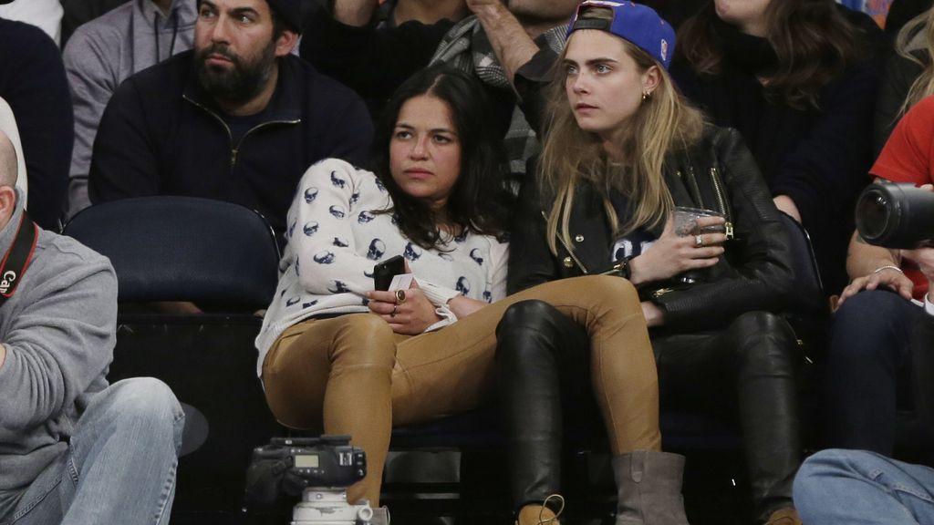 Michelle Rodriguez y Cara Delevingne confirman su relación sentimental