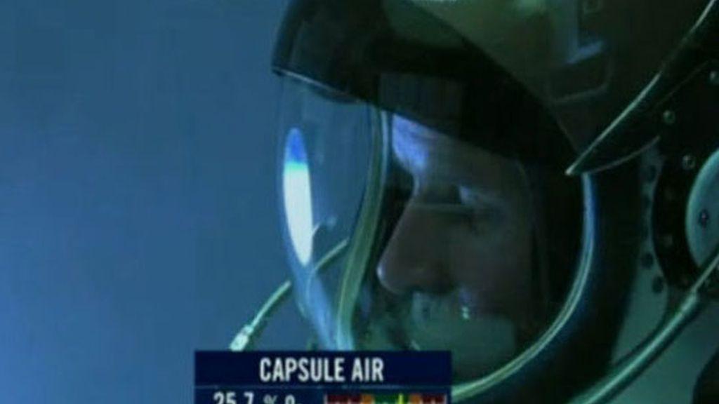 Primer salto desde la estratosfera