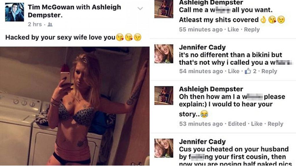 Publica una foto en el Facebook de su marido y los comentarios revelan que lo engañó