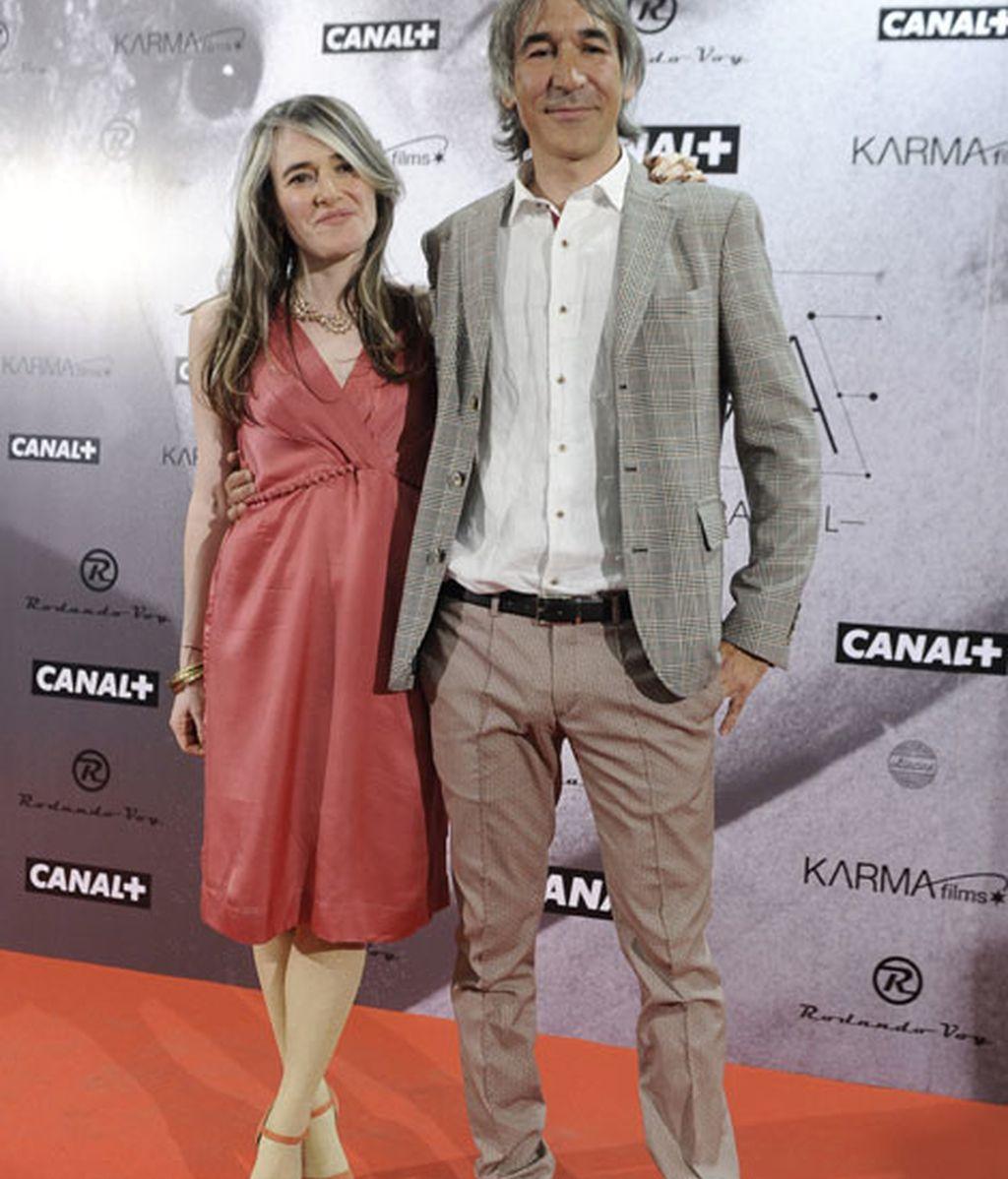 La directora, Paloma Concejero, y Jaime de la Puente, productor ejecutivo