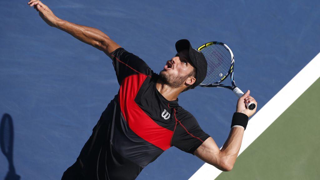 Los tenistas españoles Ferrer, Feliciano López, Granollers y Bautista avanzan a tercera ronda