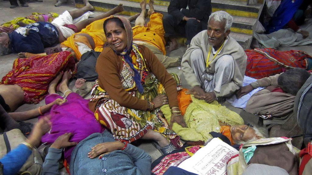 Una estampida humana deja más de treinta muertos en India