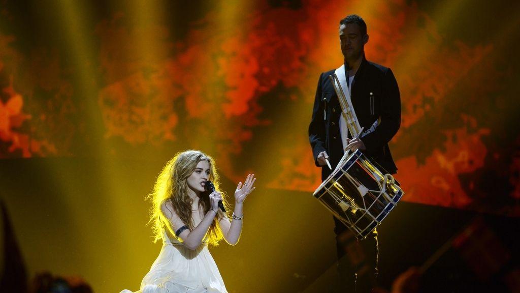 Emmelie de Forest, representante de Dinamarca, fue la ganadora con 'Only teardrops'