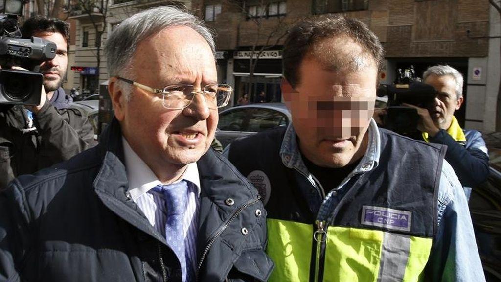 Arrestado el secretario de Manos Limpias Miguel Bernard