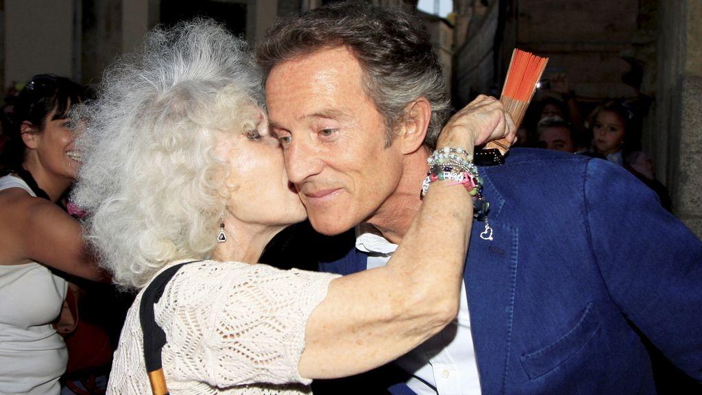 La duquesa con su último marido, en 2011
