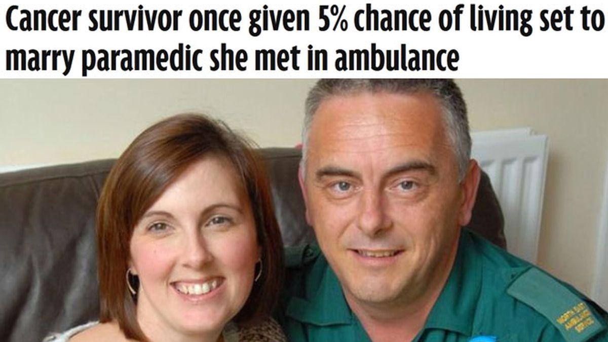 Supera una leucemia y se casa para recaudar fondos contra el cáncer