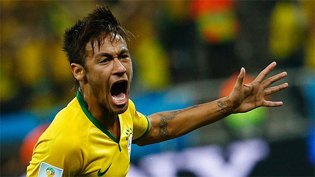 Neymar fue la auténtica estrella del partido inaugural