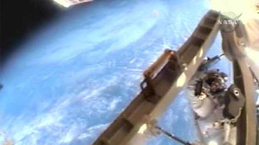 Imagen de la NASA de la Tierra vista desde el espacio