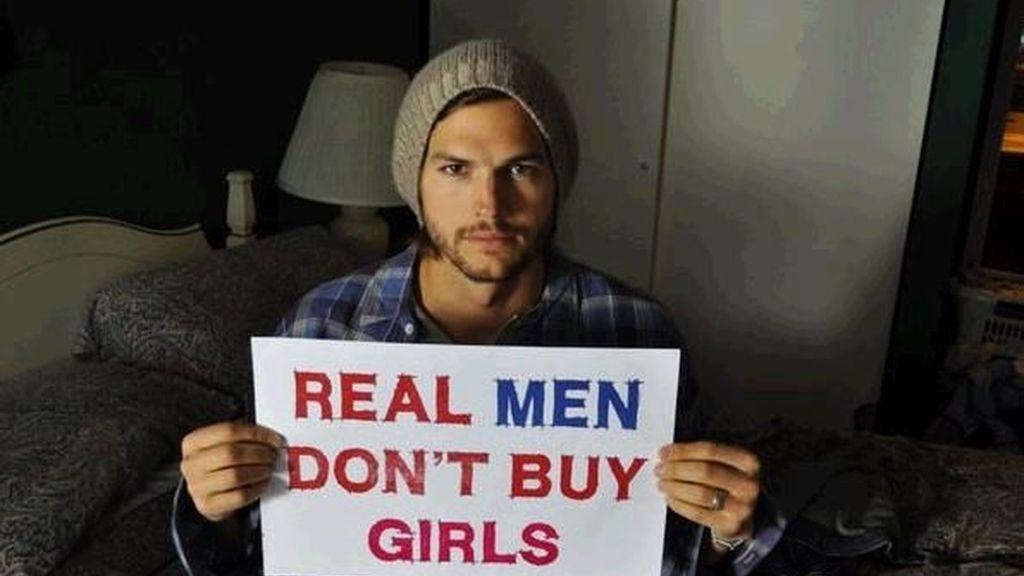 Ashton Kutcher impulsor de la campaña