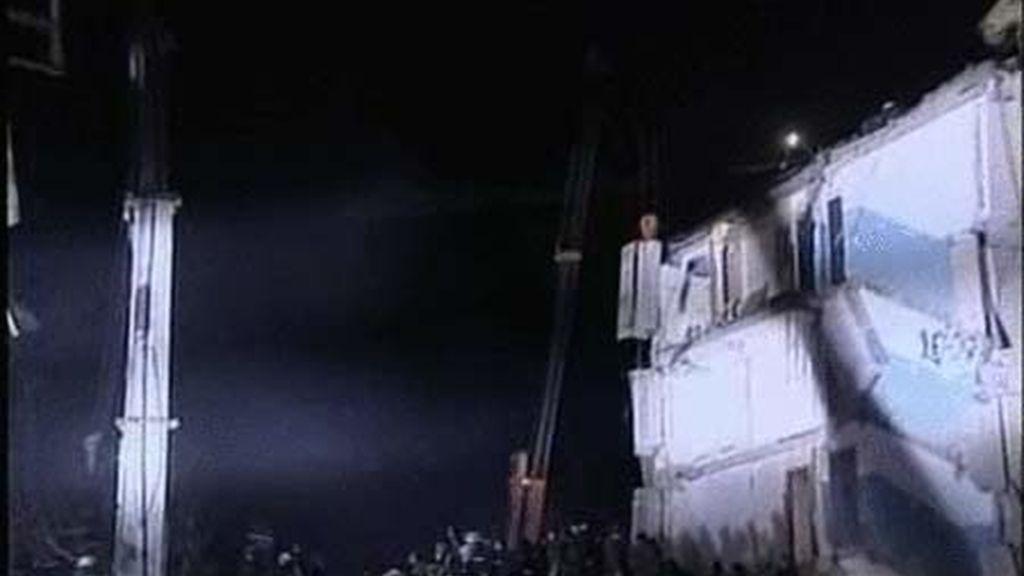 Explosión de gas en Ucrania