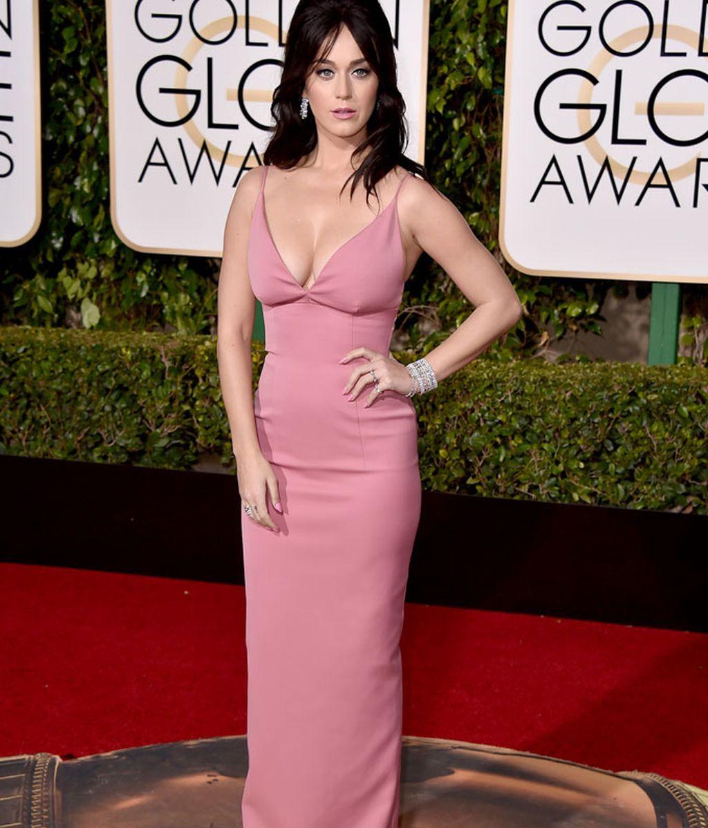 Katy Perry con vestido de Prada