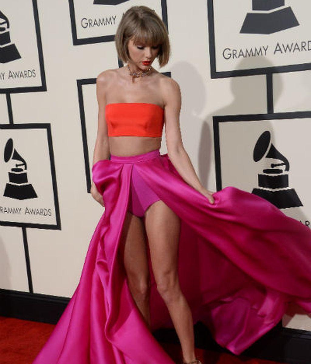 Taylor Swift presume de la prenda más sexy del verano... de los años 40