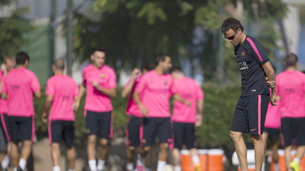 FC Barcelona, entrenamiento