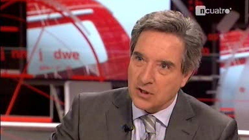 Iñaki Gabilondo entrevista al ex presidente del Gobierno, Felipe González (2 de 4)