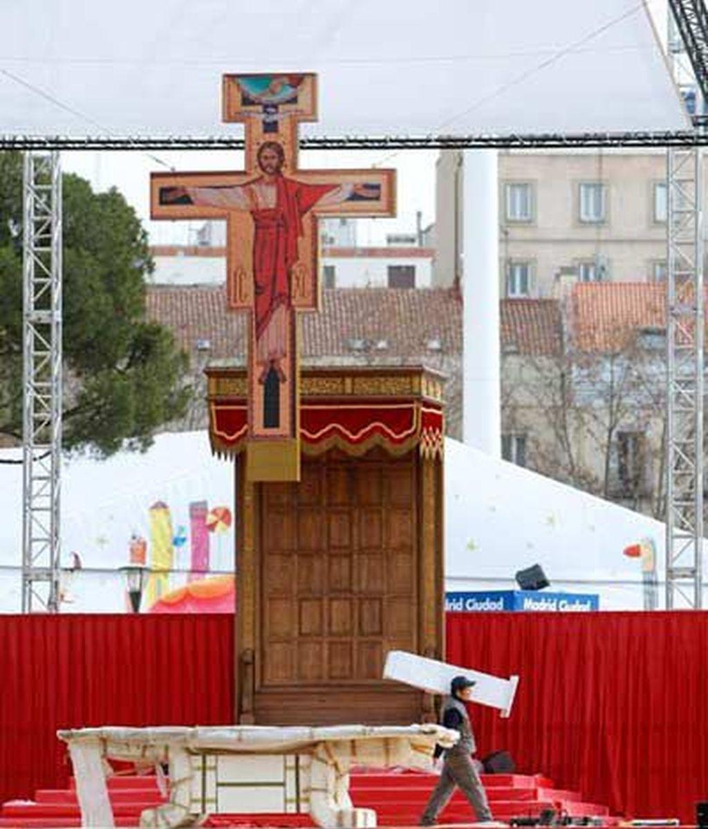 'Misa por las famlias' en Madrid