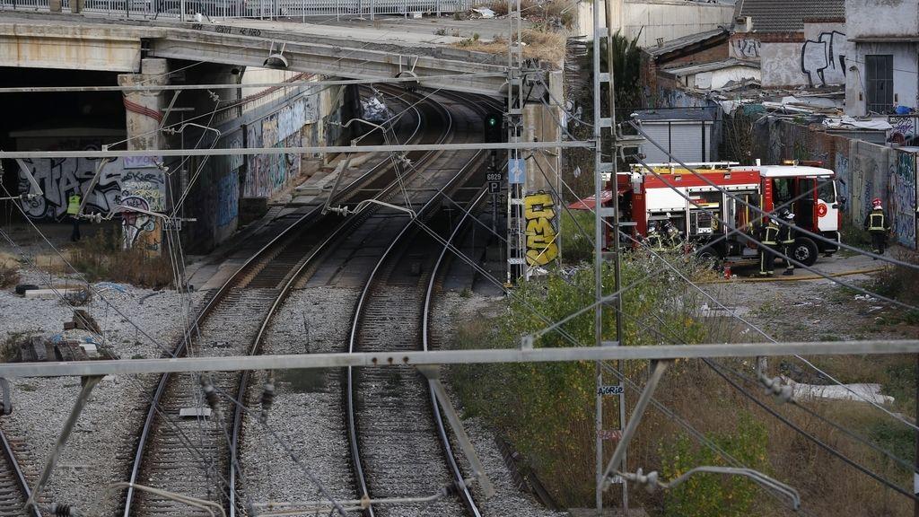 Interrumpida la circulación de trenes en Barcelona por humo en los túneles