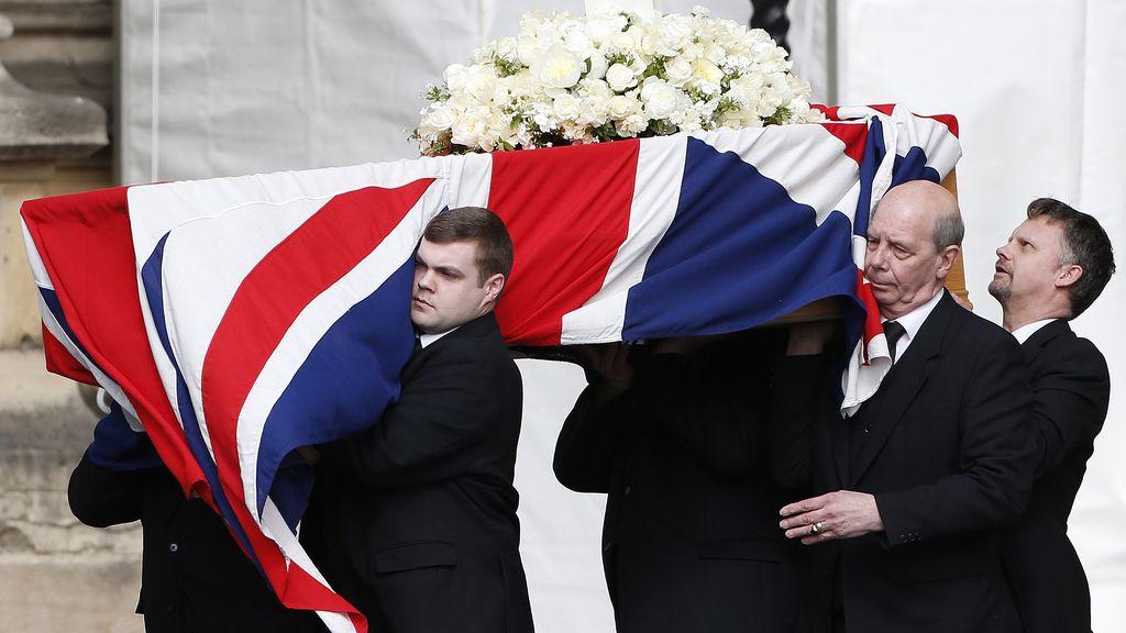 El cuerpo de Margaret Thatcher es trasladado a la abadía de Westmister
