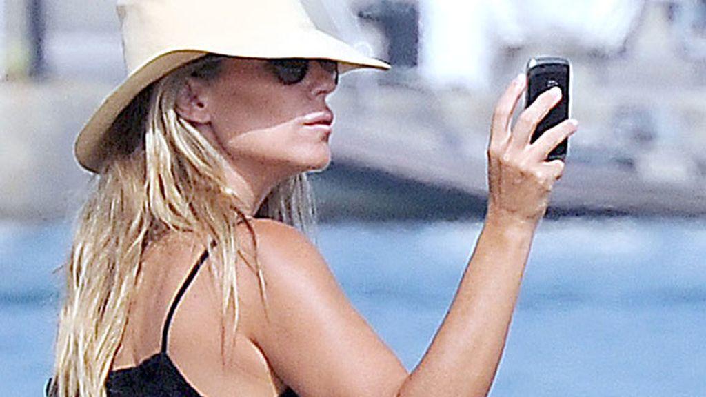 Patricia Rato disfruta de las vacaciones en Sotogrande