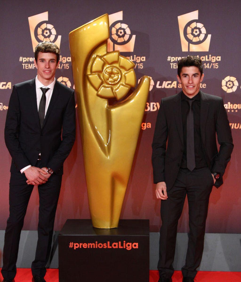 Los hermanos Márquez, Álex y Marc, no se lo perdieron
