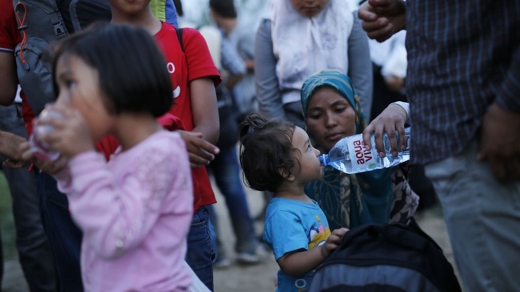 Refugiados en Serbia