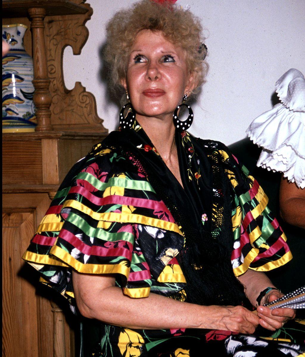 La duquesa de Alba, apasionada de las tradiciones españolas