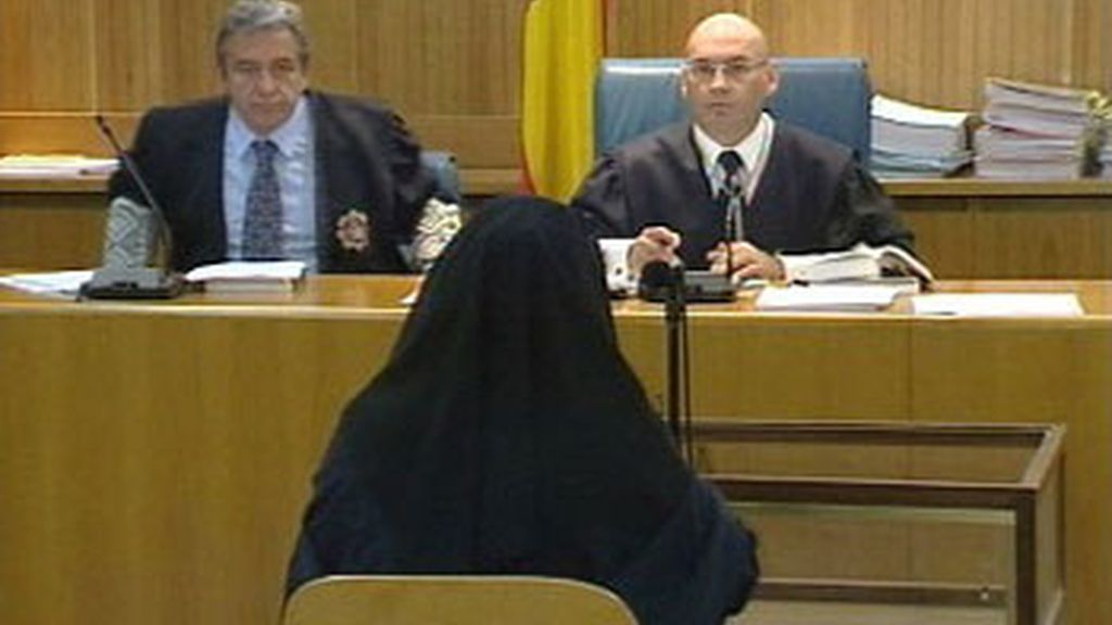 La testigo Fátima Hssisni