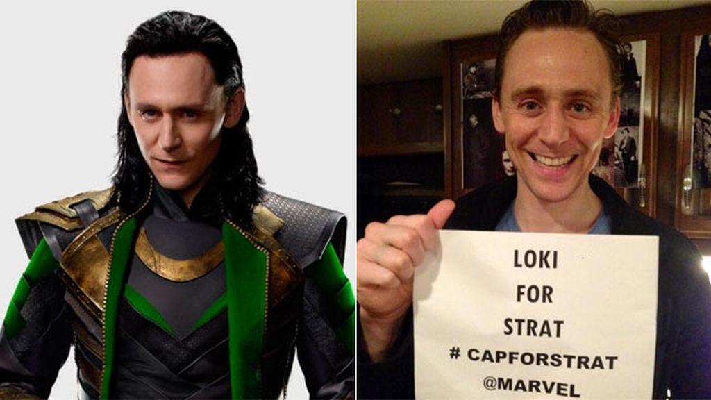 Su papel más conocido es el de 'Loki' (Marvel Comics)