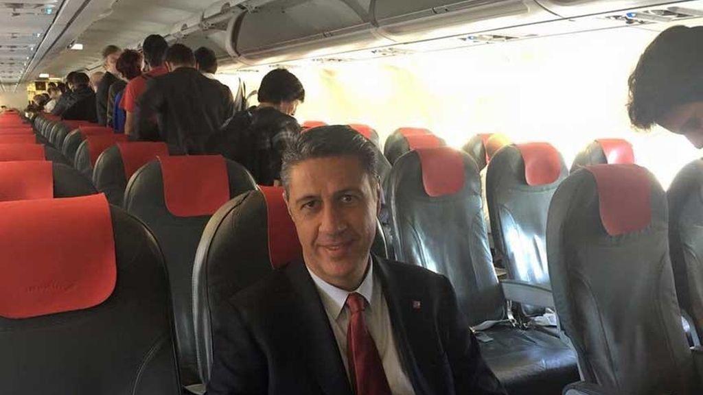 Xavier García-Albiol, líder del PP en el Parlament