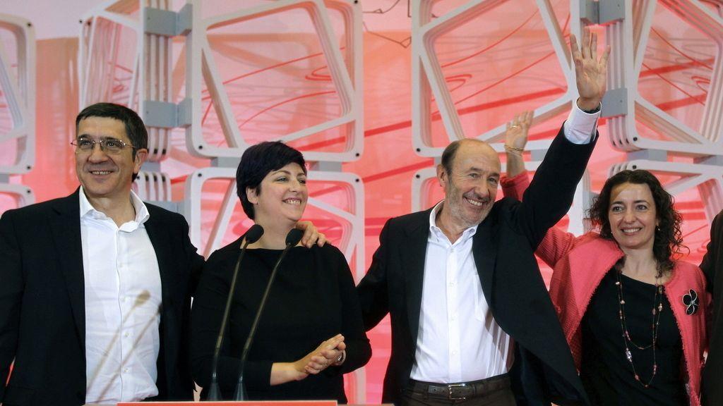 Acto electoral del PSOE en San Sebastián