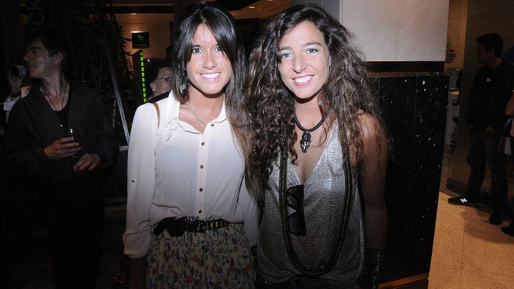 Beatriz Vera y la diseñadora de joyas Elena Estaun