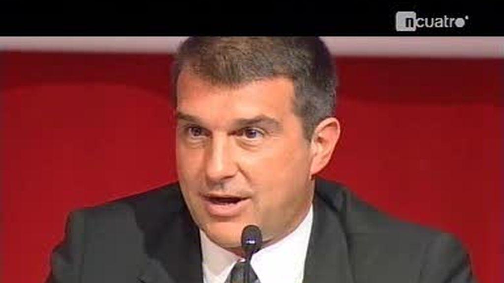 Joan Laporta, el embajador catalán