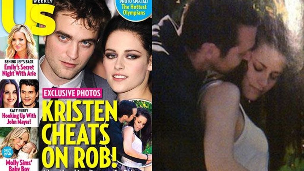 Infiel: Kristen Stewart y Rupert Sanders