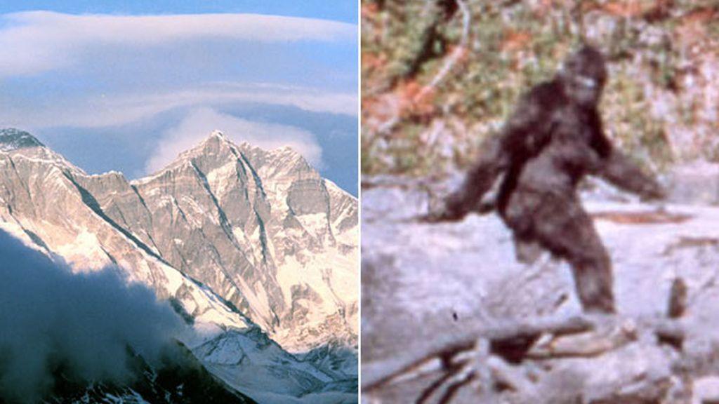 Cordillera del Himalaya, hogar del 'yeti'