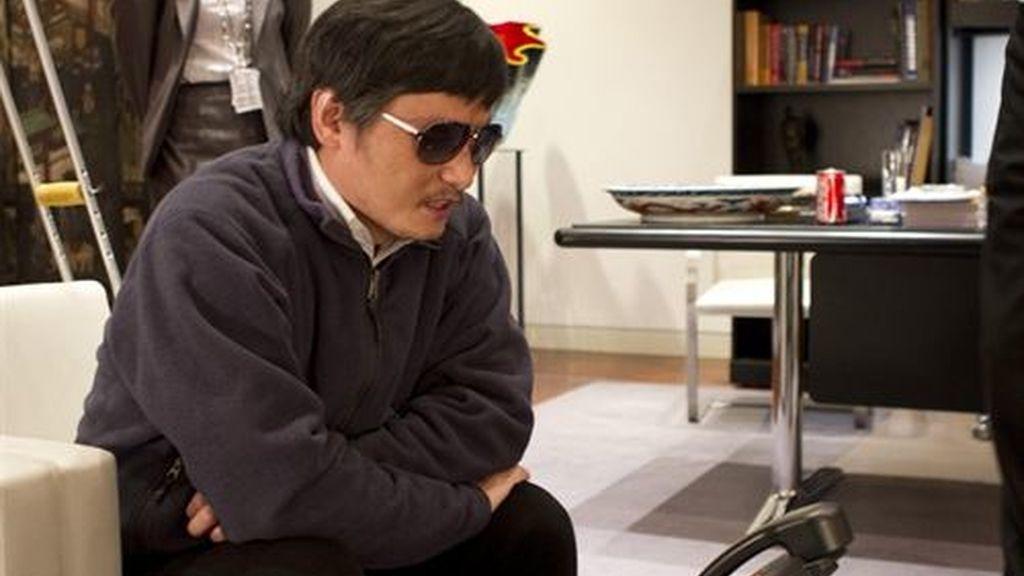 El disidente chino Chen Guangcheng