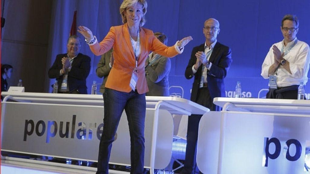 """Aguirre: """"Estoy dispuesta a seguir entregándome con más ganas y fuerza"""". Foto: EFE"""