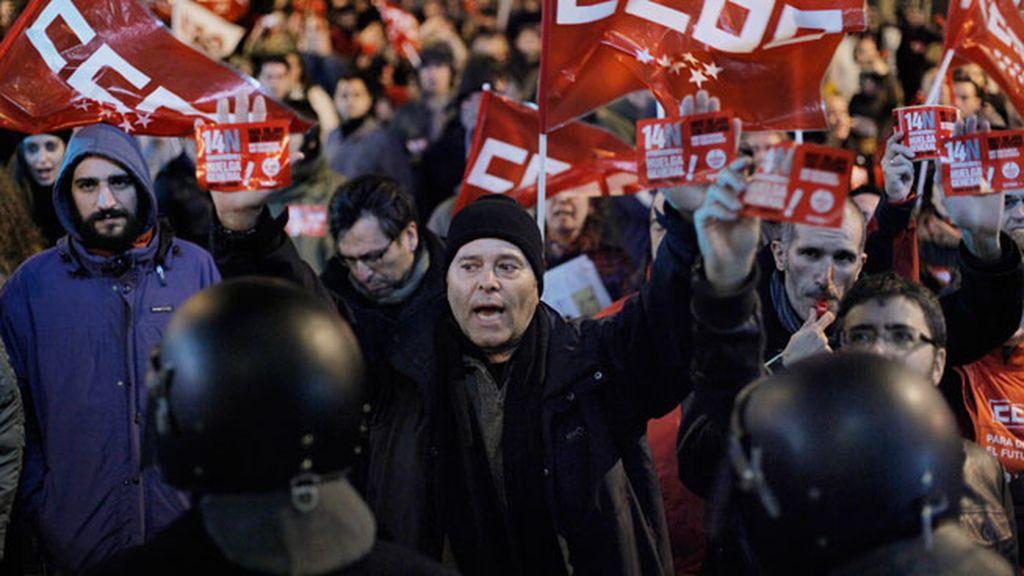 La jornada de huelga general, en imágenes