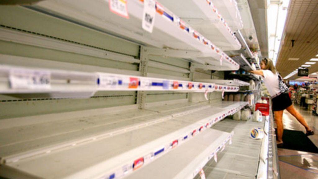 Escasez en los supermercados