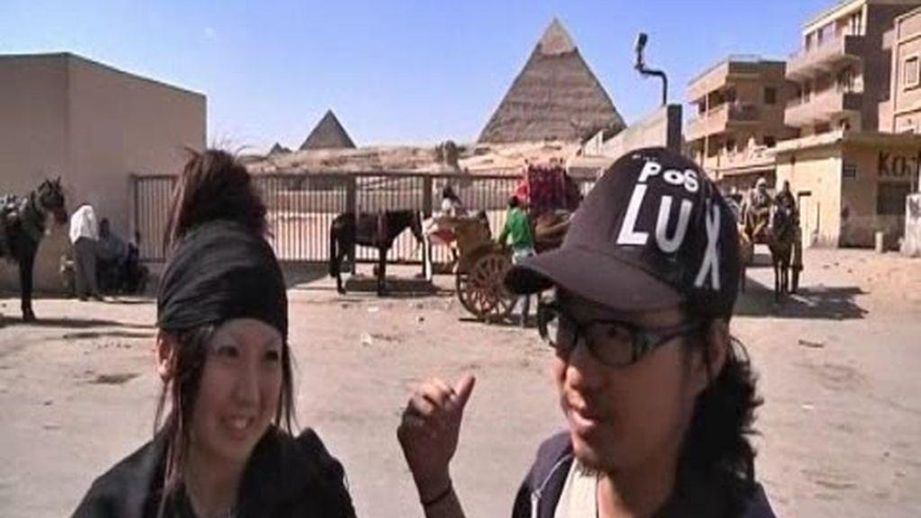 Los turistas abandonan Egipto