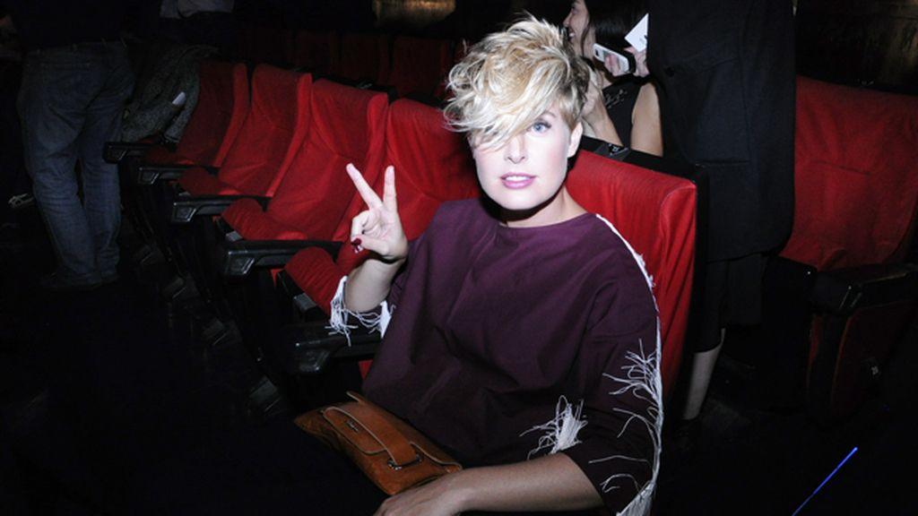 Tania Llasera acudió vestida de la marca Cultto