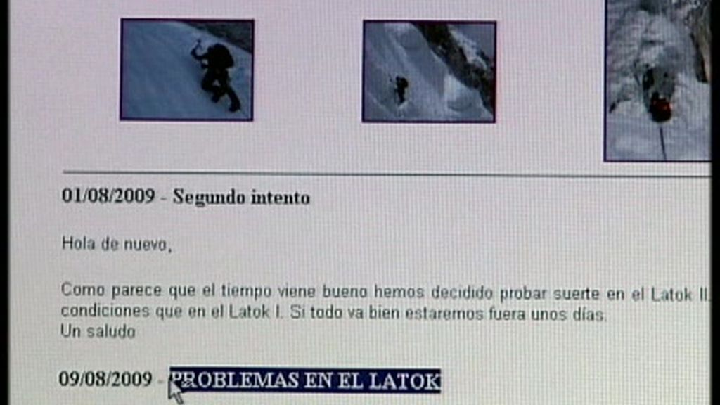 Óscar y su compañero Álvaro tenían un blog donde dejaron todas sus impresiones
