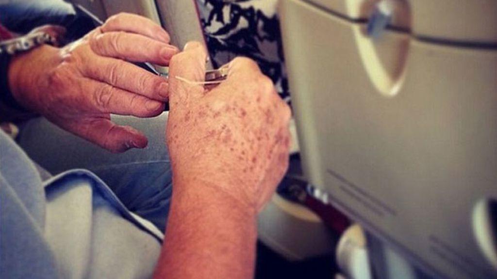 La frustración de estos pasajeros se pone de moda en Instagram