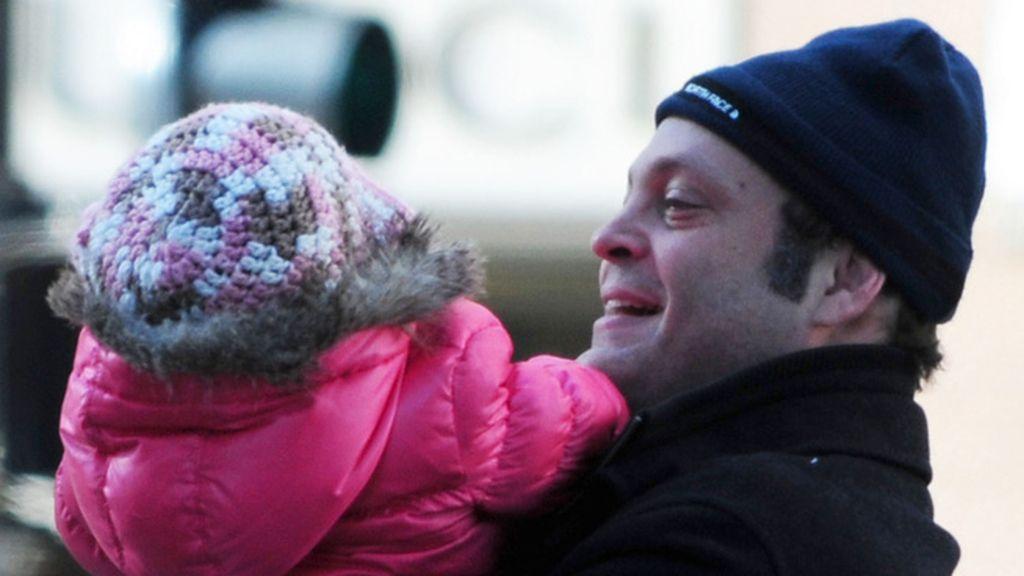 A Vince Vaughn se le cae la baba con su hijita Locklyn