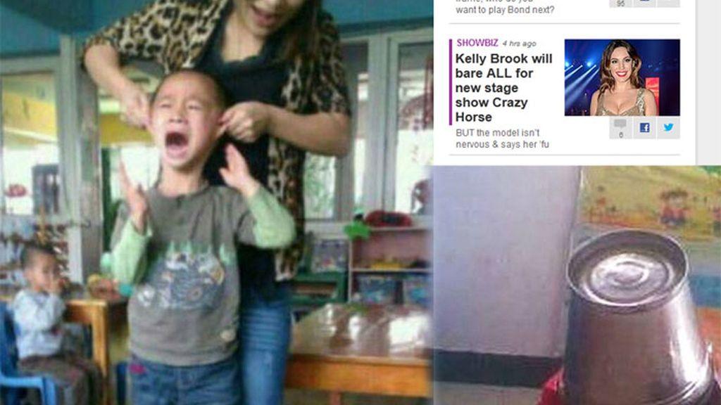 maestra china abusos físicos, método cruel