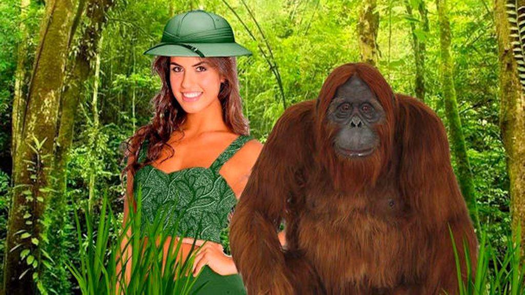 Sofía a la caza del gorila