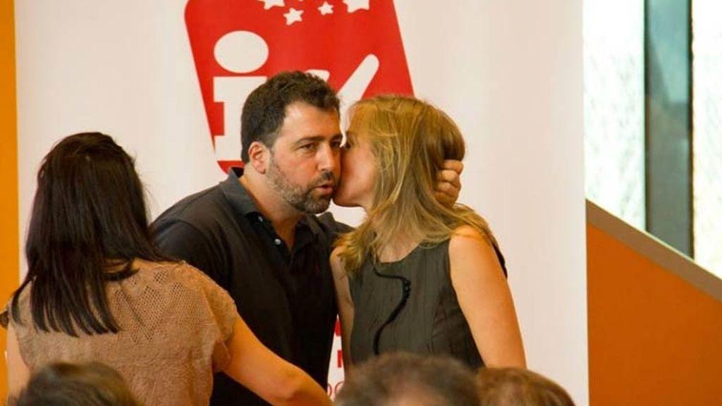Pedro del Cura y Tania Sánchez