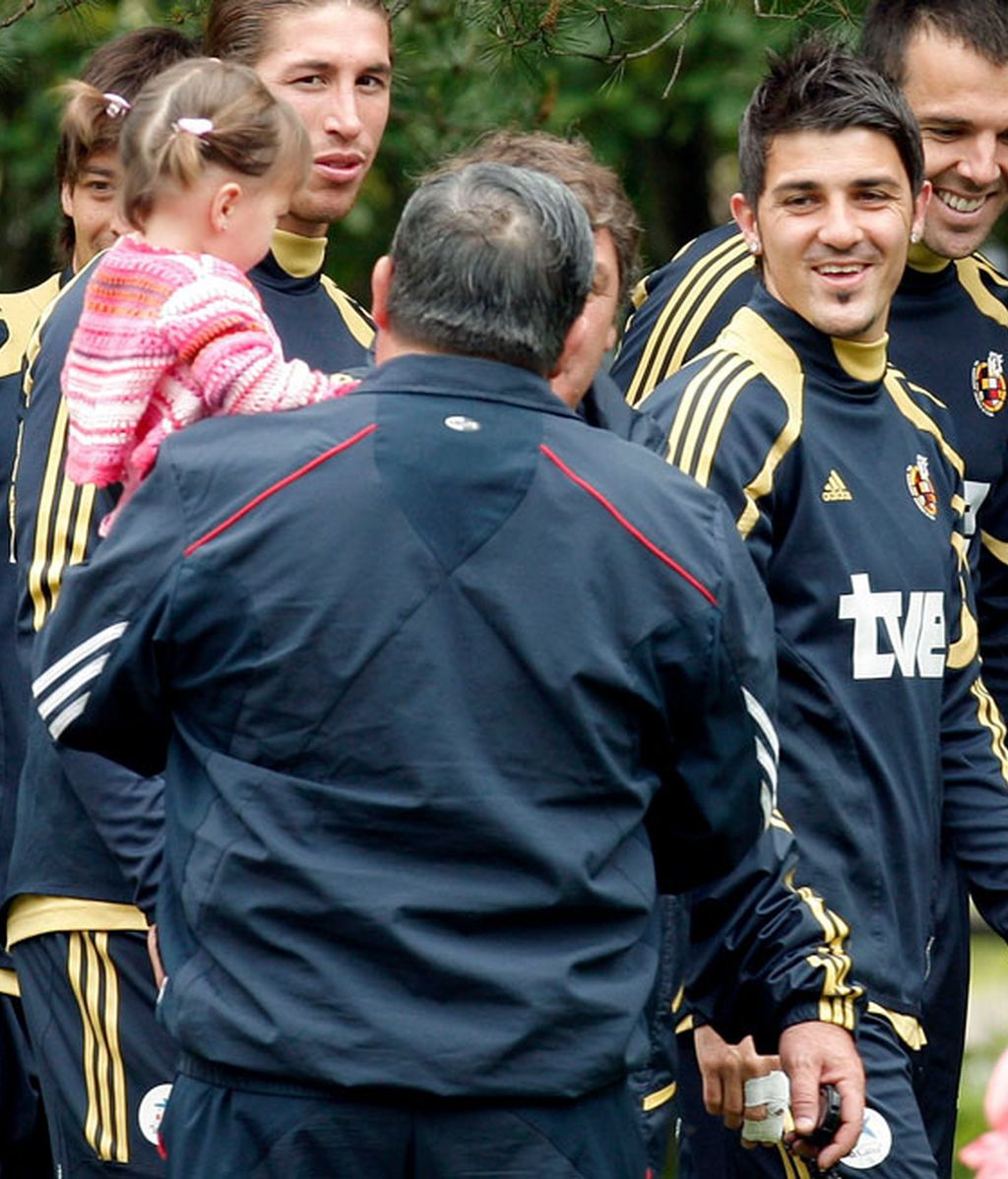 La selección española disfruta de un día libre