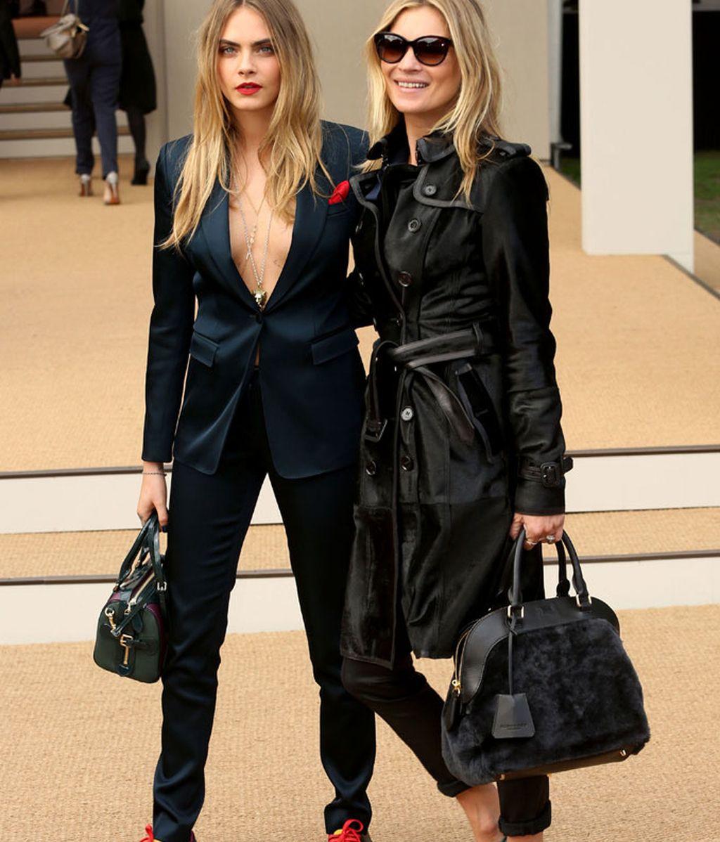 Cara y Kate, amigas y juntas por una campaña mítica, gran pelotazo fashion