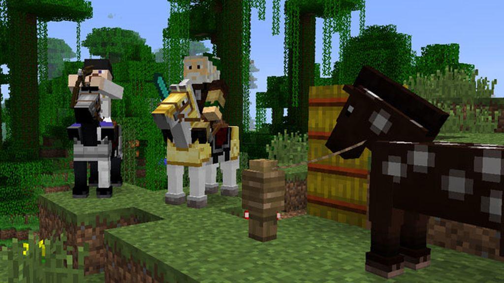 Minecraft, vjuegos