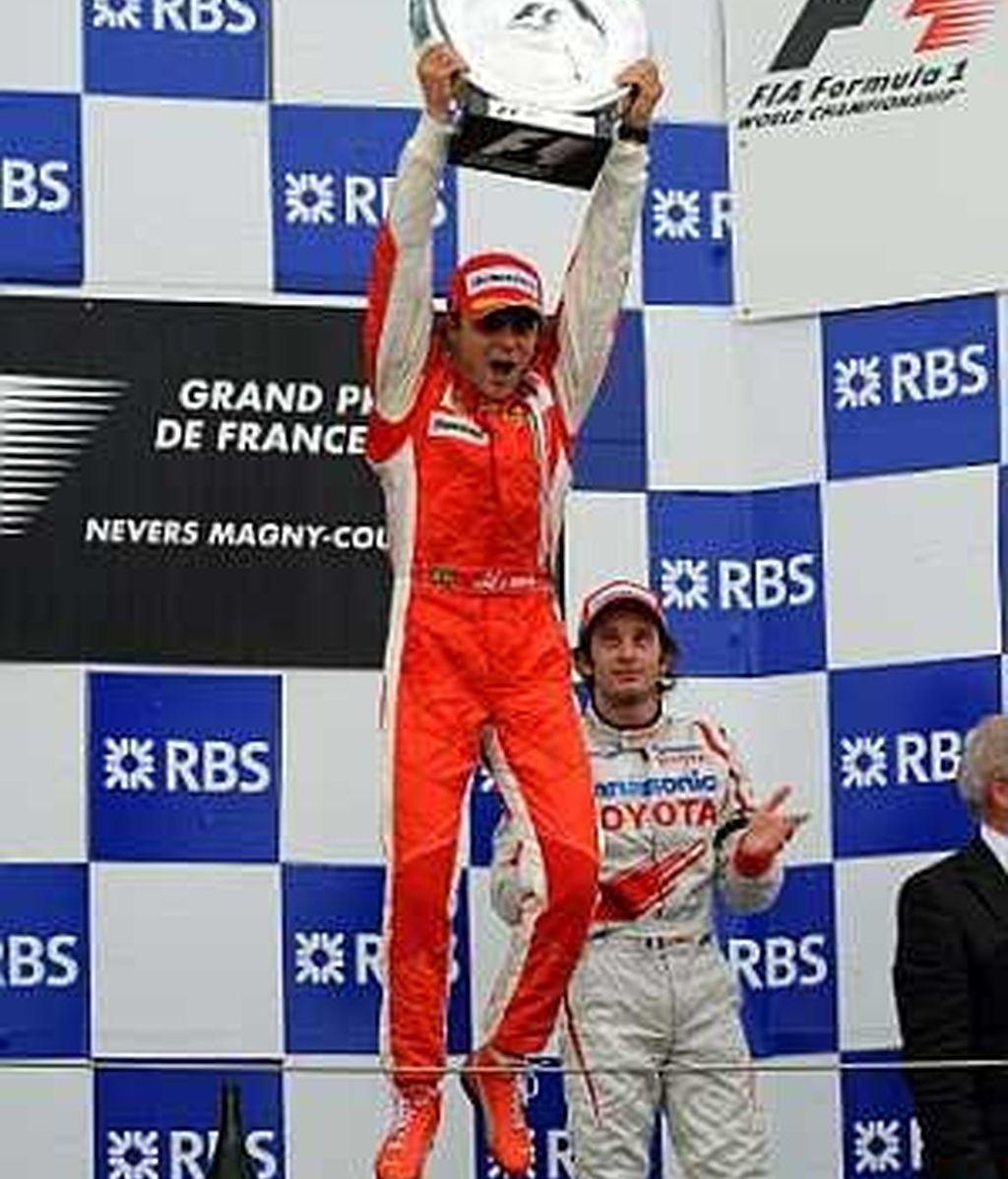 Fin de semana triunfal de Massa