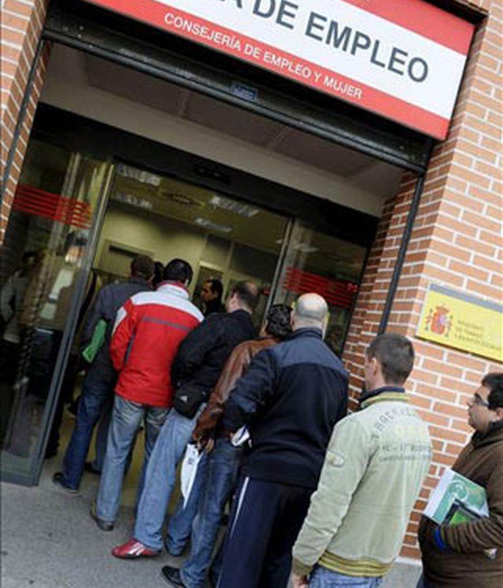 El paro no disminuirá hasta 2012 como pronto. Foto: EFE